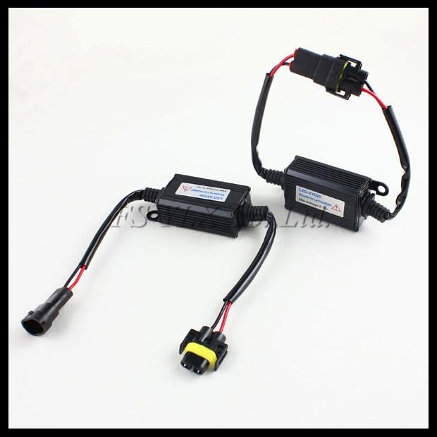 FSYLX H4 LED atšaukimo dekoderis H4 H7 9005 9006 9007 H8 H11 H13 LED - Automobilių žibintai