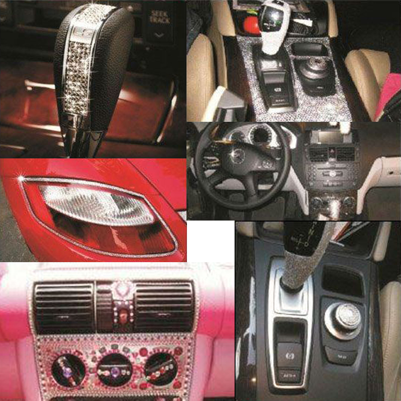 Bling car accessories images for Car inner decoration