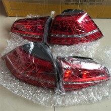 Для Volkswagen VW Golf 7 светодиодный задний фонарь 1 комплект