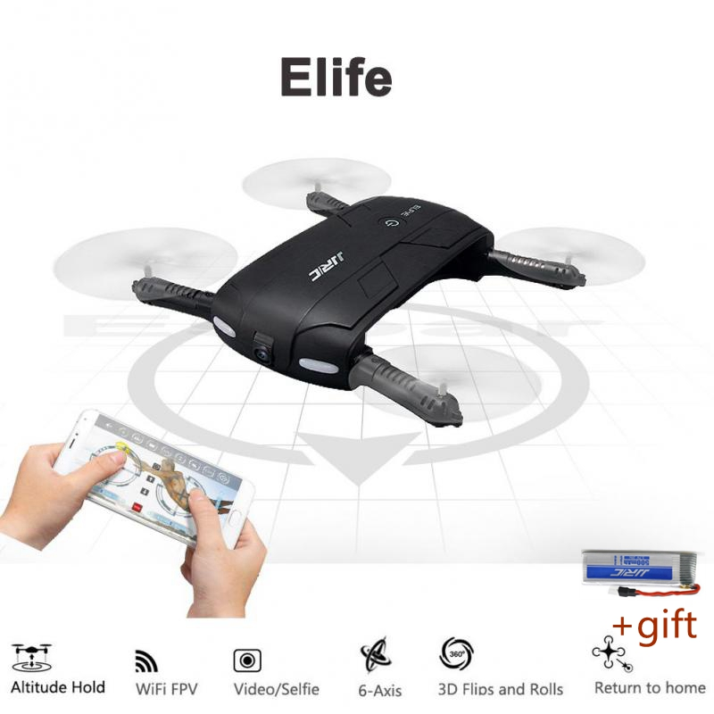 FPV Wifi Camera RC Quadcopter Foldable Pocket Selfie Drones Phone Control Flying Helicopter Mini Dron JJRC H37 jjr c jjrc h39wh wifi fpv with 720p camera high hold foldable arm app rc drones fpv quadcopter helicopter toy rtf vs h37 h31