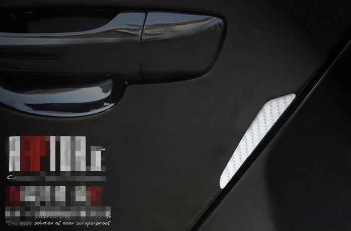 4PCS Car Anti-Collision Strip Bumper Protector Door crash bar for Chery TIGGO A3 A5 ARRIZO 7 BONUS 3 M11 SEDAN M11 HATCHBACK 8m the car hub protects therubber gasket sticker for chery tiggo a3 a5 arrizo 7 bonus 3 m11 sedan m11 hatchback indis very
