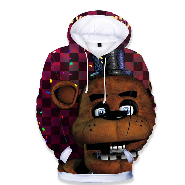 Kid Hoodies Five Night At...
