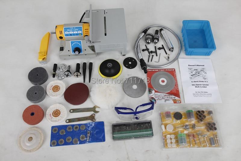 Mini multifuncional eléctrico Jade corte banco pulidora Dremel - Herramientas eléctricas - foto 3