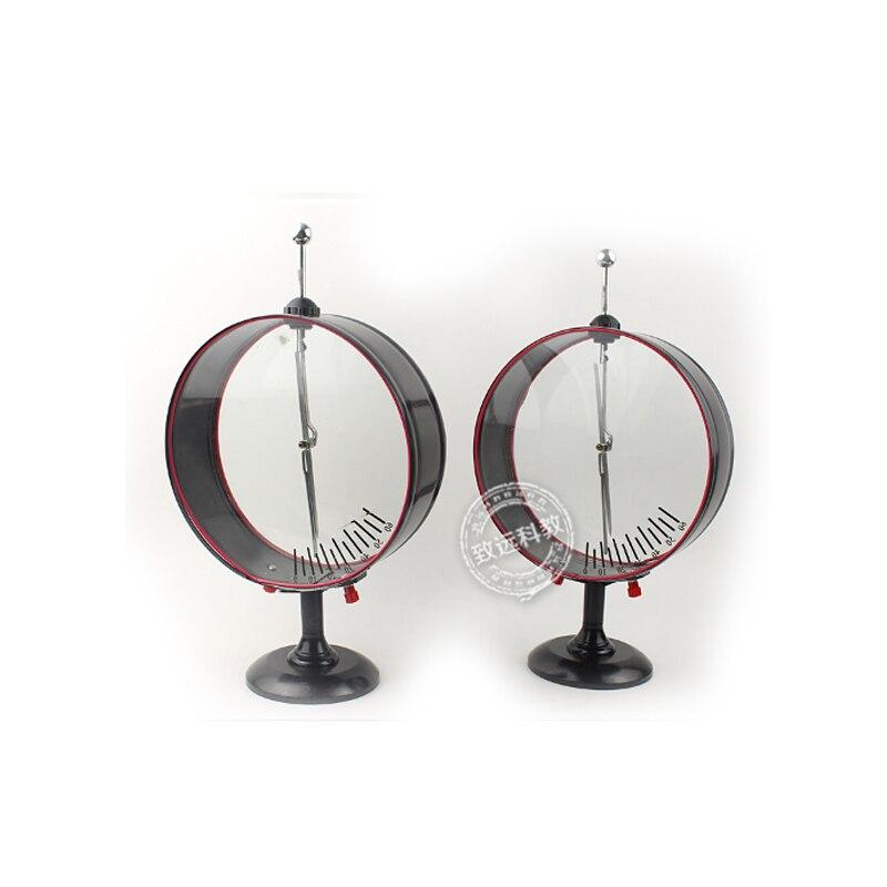 1 paire pointeur électroscope instrument d'enseignement lycée physique expérience Science enseignement expérience