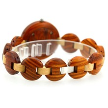 Small Dial Womens Wooden Watch