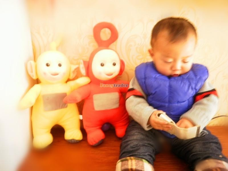 Fancytrader Super Quality Full Set 4 pcs 20\'\' 50cm Copyrighted Plush Stuffed Teletubbies FT90434 (5)