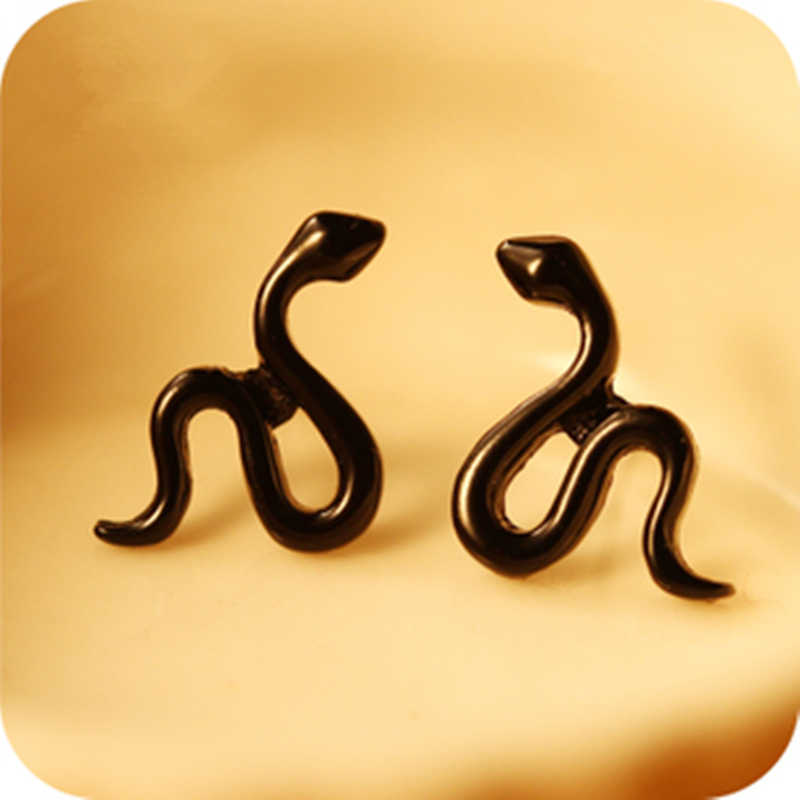 2019 New Fashion Snake Jewelry Crystal Cuff Earring Snake Fashion Retro Animal Earring