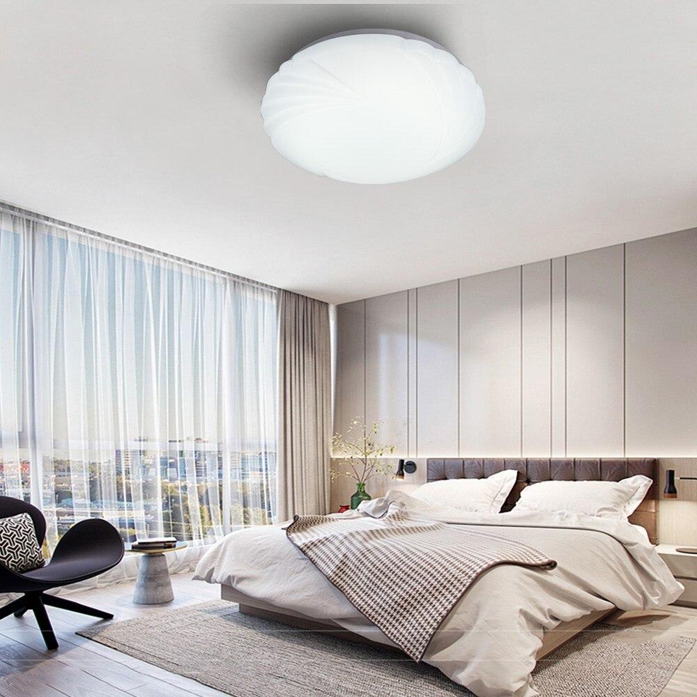 12/18W 1000LM Promise dimming Round LED Ceiling Down Light Flush Mount Light Fixture Bathroom Study Living Room Lamp 6000K White