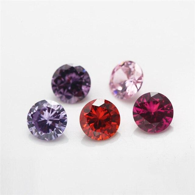 Фото 12 шт цвет cz 1 в цвете s 4 мм ~ 10 камень на день рождения цена