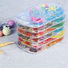 Барьеры мини шар лабиринт интеллект 3d головоломка игрушка Баланс барьер магический лабиринт сферика высокое качество