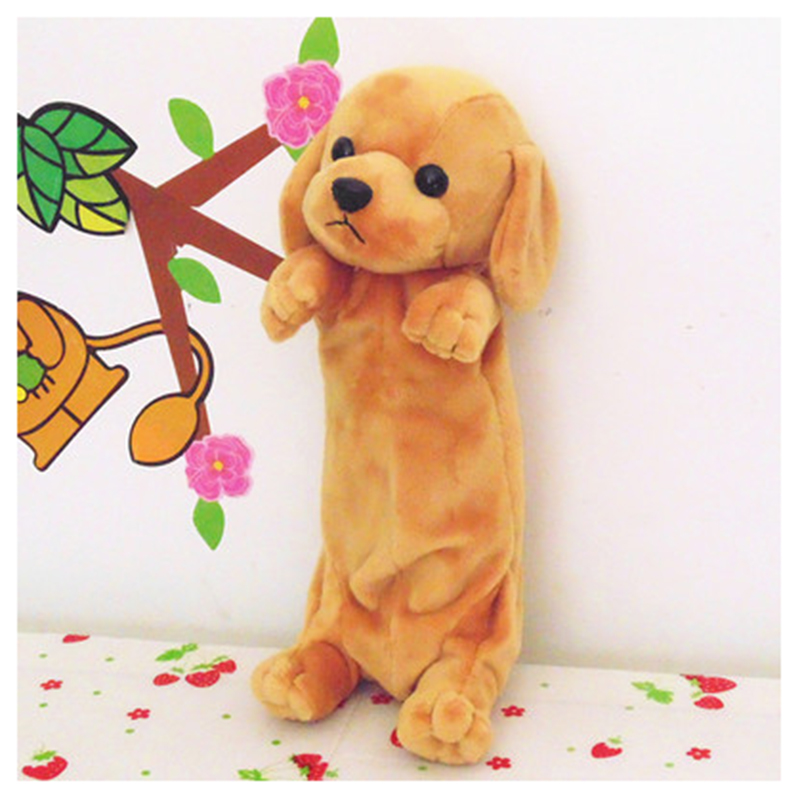 School pencil case Dog pencilcase Shop School bag Girl pencil case plumier Cartoon material school pencil box Golden Retriever