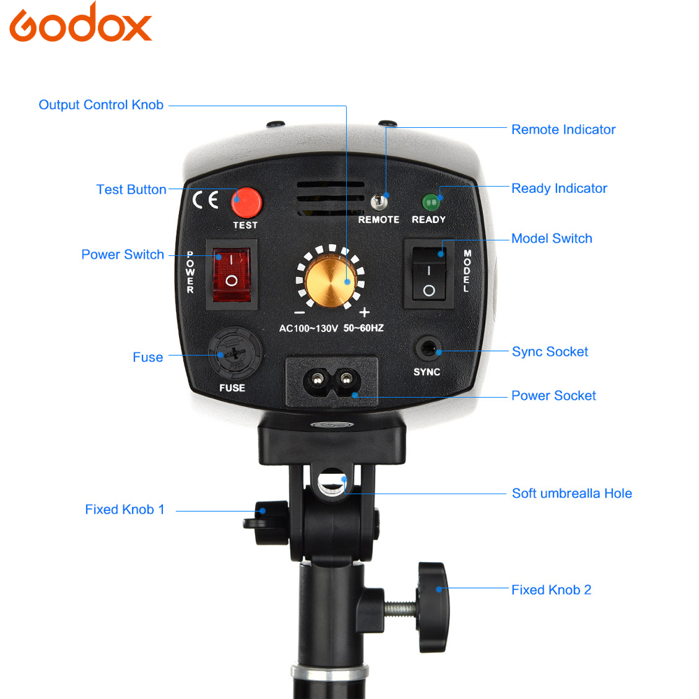 Image 3 - GODOX K 150A K150A K180A K 180A 180WS 150Ws Portable Mini Master Studio Flash Lighting Photo Gallery Mini Flash 110 v/220 v-in Flashes from Consumer Electronics