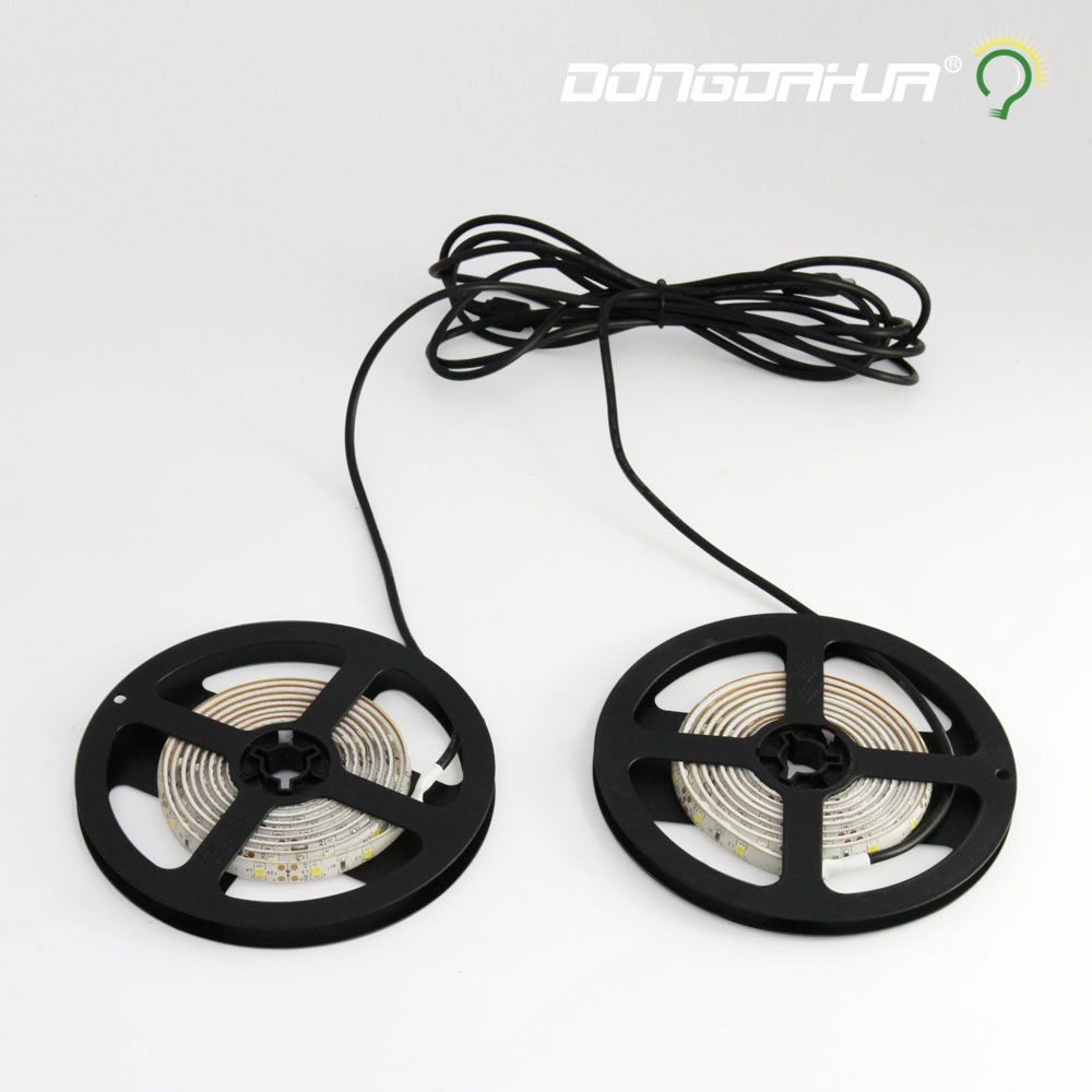 цена на 1.5 m drive 12 v power supply tape strip led light lamp decoration of the smd inside the tape to the tv background lighting