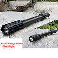 High Power Q5 LED Flashlight IPX6 Waterproof Zoomable Torch Lights Mace Rechargeable Flashlight Torch Super Bright Outdoor Light