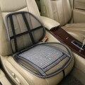 Motorista de carro de volta protetor da cintura da cintura de bambu almofada de ventilação de verão net de volta