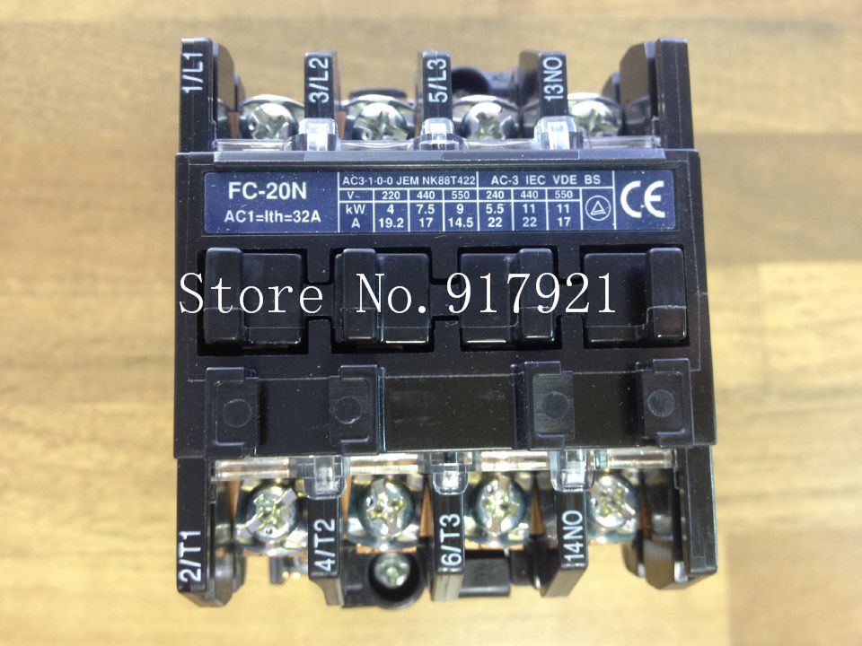 [ZOB] The original Japanese original original BMFT6204 FC-20N-3p+1a contactor 110VAC --2pcs/lot цена