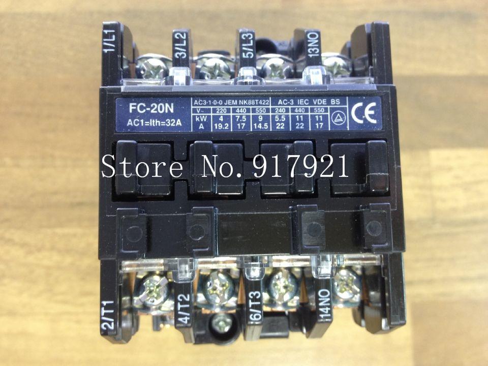 [ZOB] The original Japanese original original BMFT6204 FC-20N-3p+1a contactor 110VAC --2pcs/lot [zob] original original srd n4 dc48v 2no 2nc genuine original dc contactor 2pcs lot