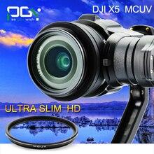 PGY MCUV filtre Camera lens pour osmo X5 Inspire 1 de poche Cardan RC Multi Enduit Optique En Verre HD FPV Quadcopter pièces
