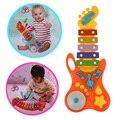 Guitarra crianças brinquedo música bebê bater o piano xilofone mini desenvolvimento desenvolvimento musical toys com batida vara