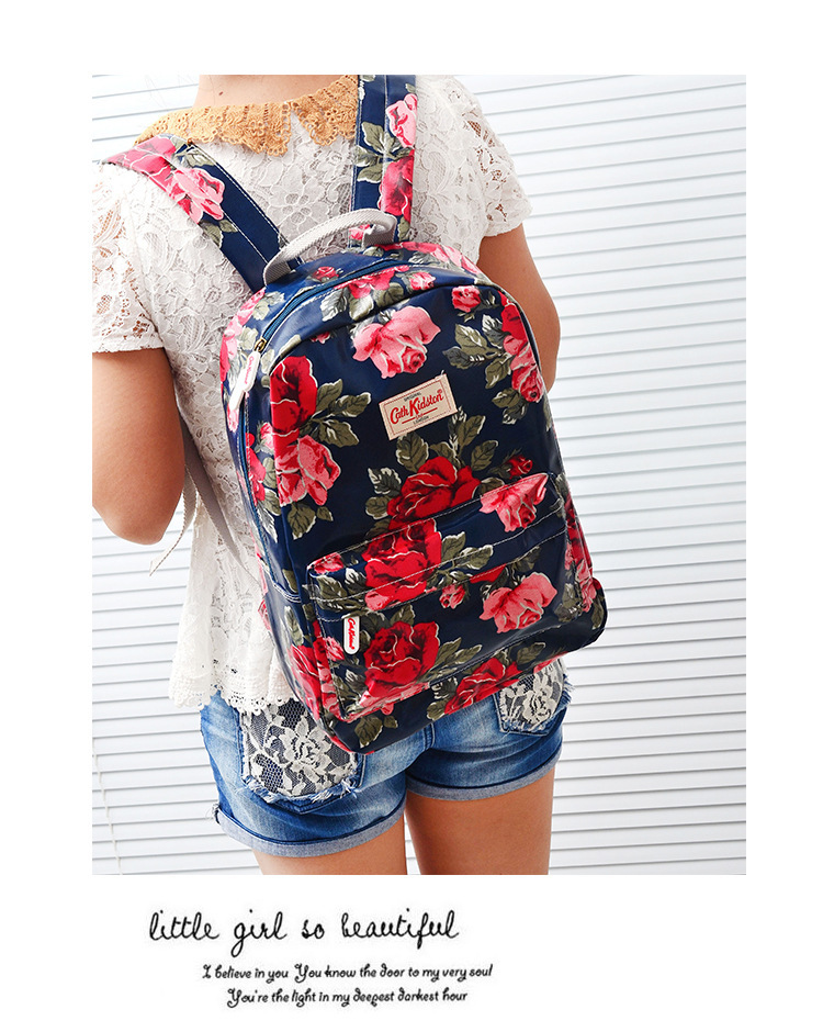 New fashion girl backpack college student shoulder bag hot girl ...