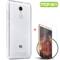 Xiaomi Redmi Note 3 Pro Case Silicon Cover Xiomi Redmi Note 3 Glass Tempered Screen Protector