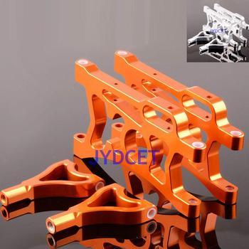 Juego de brazo de suspensión trasera de aluminio 85402 para MOTOR RC 1/5 HPI Baja 5B SS Rovan KING