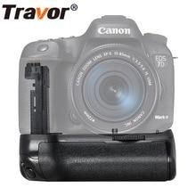 Travor Вертикальная Батарейная ручка для камеры Canon 7D Mark II 7D2 DSLR как BG-E16 работы с LP-E6 батареей или 6 батареек АА