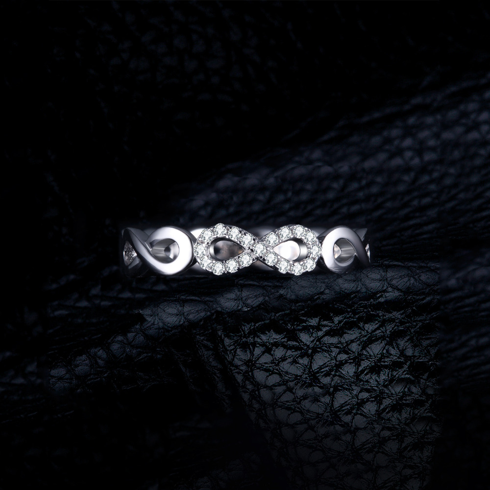 SmyckenPalace Infinity Forever Love Anniversary Promise Ring Pure 925 - Fina smycken - Foto 2