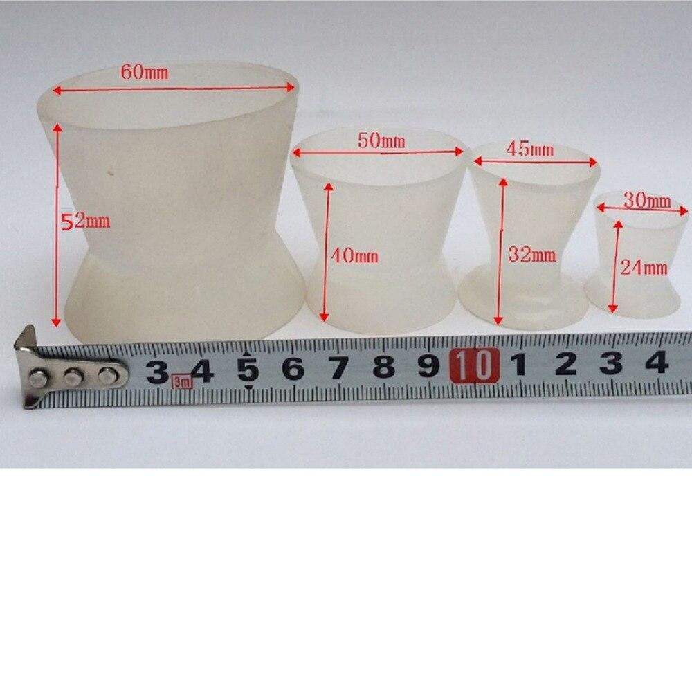 Baru berkualitas tinggi 4 pcs / set laboratorium gigi silikon, - Kebersihan mulut
