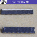 For HTC One M9 FPC LCD Display Screen Connector On Board 39pin Free Shipping;5PCS/LOT