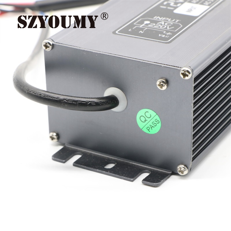 SZYOUMY 25A courant AC 190 V 250 V à DC 12 V transformateur étanche puissance 12 V 300 W LED alimentation du conducteur pour bande de LED/modules - 6