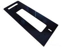 M Prime One 3D printer parts 8mm black acrylic Default frame plate with handle