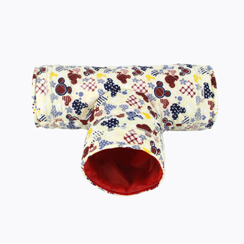 Mini Hamster Guinea Pig Tunnel Toy Pet Cages Hedgehog Tube Chinchilla House Cave Small Animals Pet Products Rat Mouse Funny Toy 4