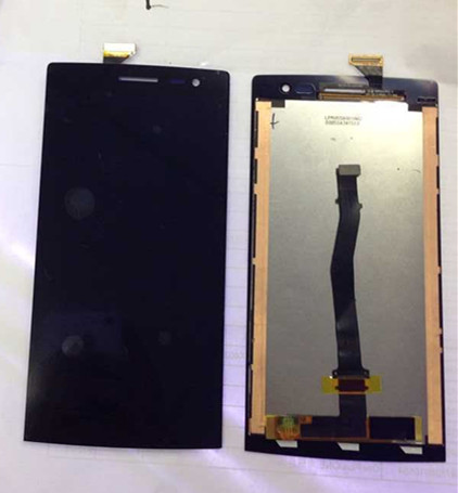 ФОТО LCD screen display + touch digitizer For OPPO X9007 Find 7 X9007 Black  Free shipping