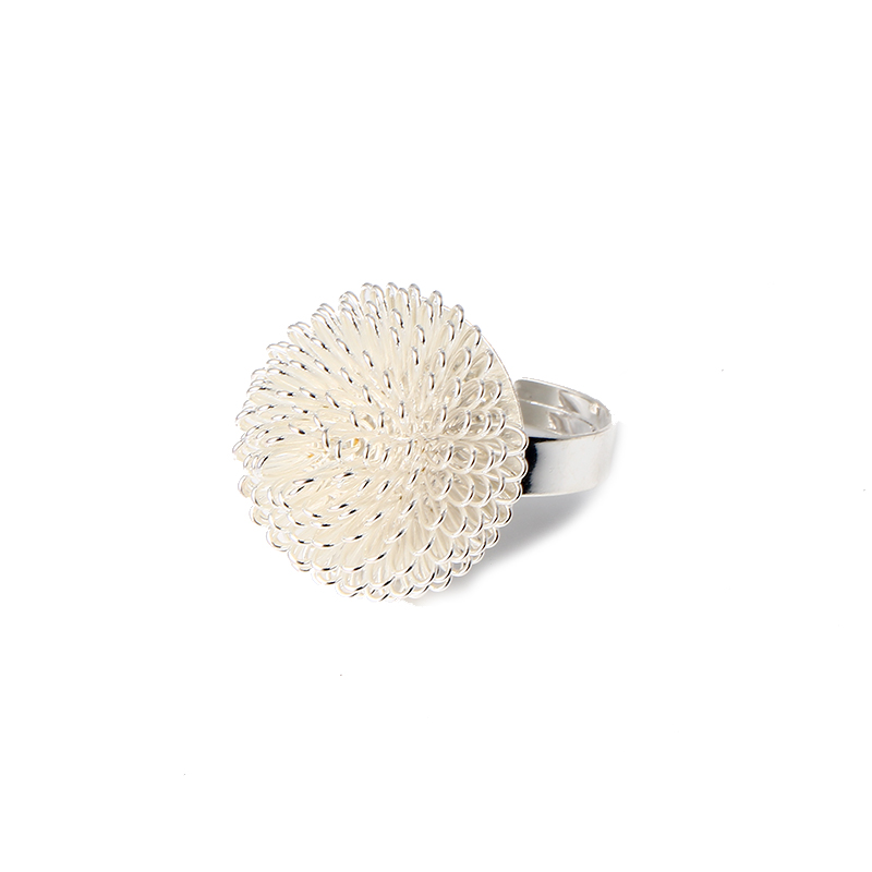 new style fashion jewelry unique dandelion ring flower