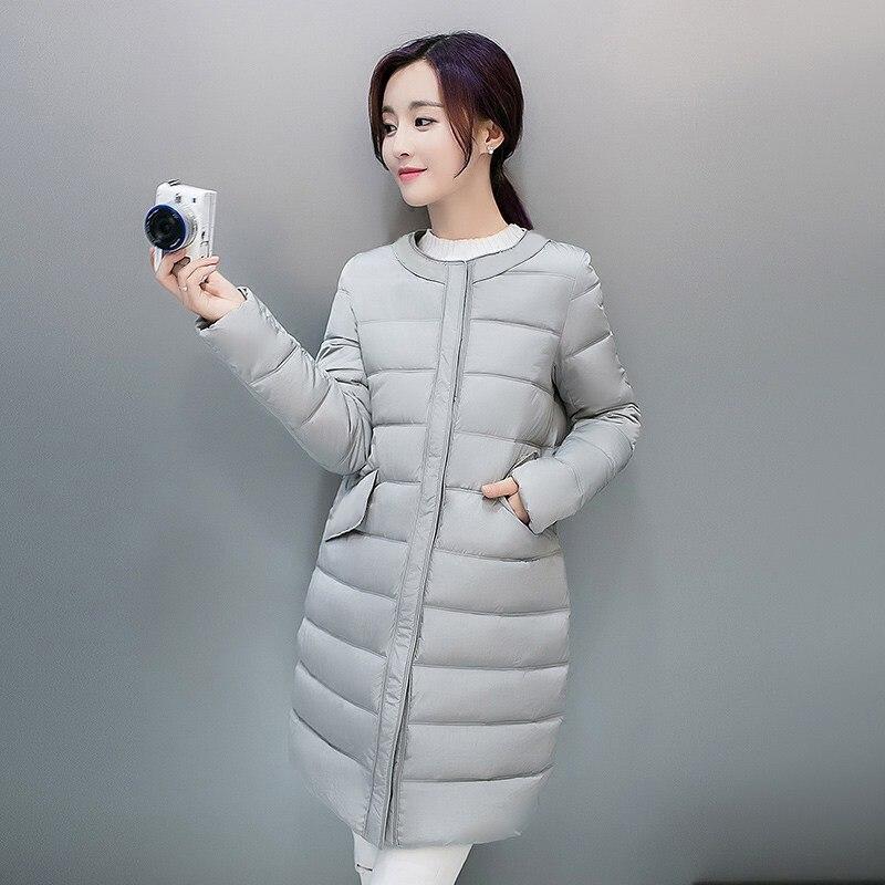 Coréenne D'hiver red Version Vers Automne Mode Femmes Yagenz Mince gray Le Black Bas pink Veste Pardessus De 2017 Casual Coton ZN8On0XPkw