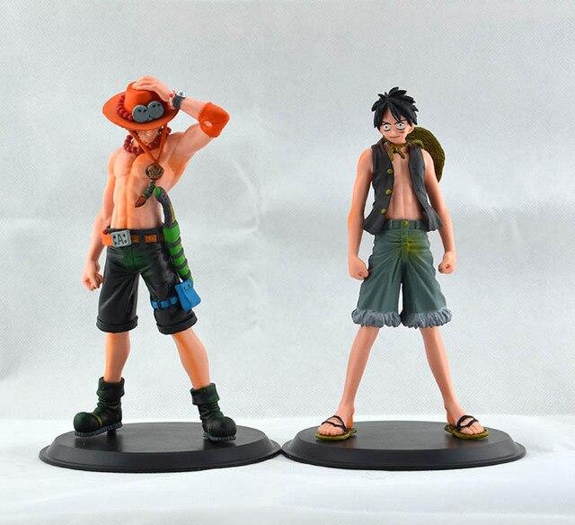 One Piece 2pcs/set Monkey Action Figures PVC Toy