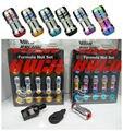 20 Pçs/set Volk Formula Racing Lug Aço Nozes Nozes M12x1.5 Tamanho comprimento 44mm (6 Cores Disponíveis)