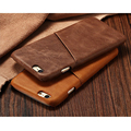 Para iphone 6 s 4.7 polegada caso capa de couro genuíno para iphone 6 sacos & casos de telefone marca de luxo