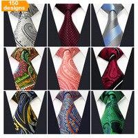 Ücretsiz Kargo adet lot Karışık Toptan Mens Kravat Kravatlar Düğün Klasik 100% Ipek Moda