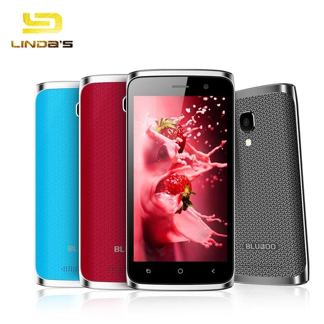 "Original BLUBOO Mini 4.5"" 960*540 Android 6.0 Mobile Phone MTK6580 Quad Core 1GB RAM 8GB ROM 5MP 1800mAh WCDMA Smartphone"