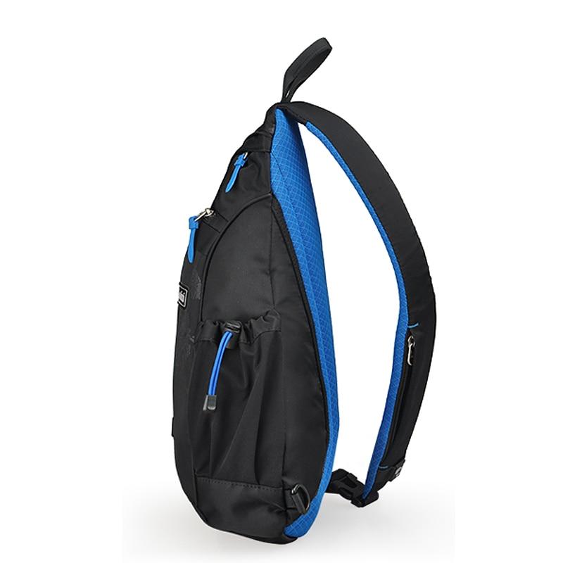 Image 3 - Mixi 2020 Fashion Backpack for Men One Shoulder Chest Bag Male Messenger Boys College School Bag Travel Causal Black 17 19 inchBackpacks   -