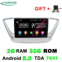 Funrover Hot Sale 2g 32g 9 Inch Android 8 0 Car Dvd Gps Player For Hyundai