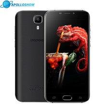Doogee X9 Pro 5.5 дюйма LTE отпечатков пальцев смартфонов HD 2 ГБ + 16 ГБ Android 6.0 Dual SIM MTK6737 4 ядра 8.0MP 3000 мАч GPS