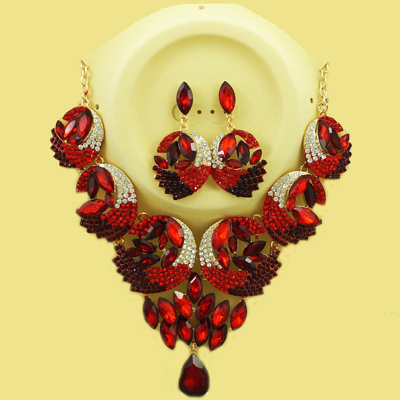все цены на african gold jewelry set fine jewelry sets women big necklace colours stone jewelry Earring necklace dubai jewelry sets