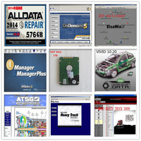 Alldata Auto car Repair Software 10.53 All data +Mitchell on demand 2015+vivid+ ATSG +ElsaWin 5.2 1tb hdd with 8 softwares