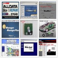 Alldata Auto car Repair Software 10.53 All data +Mitchell on demand 2015+vivid+ ATSG +ElsaWin 5.2 1tb hdd with 8 softwares