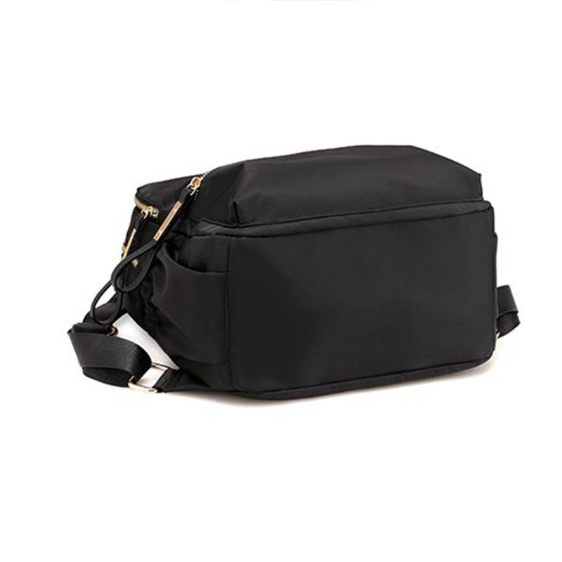 MENGXINDELI Women Oxford Bakcpack Student High-capacity Zipper School Bag Female Fashion Traveling Softback Soft Backpack