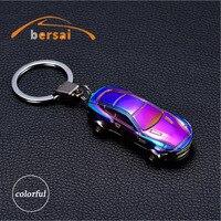 BERSAI 1 Piece Alloy Car Key Chain Ring Cigarette Lighter For BMW E46 TOYOTA Mazda Car