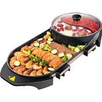 2 многофункциональное назначение выпечки плоский поддон Корейского барбекю домашний гриль электрическая сковорода гриль инструменты дома